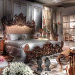 Шик стиля барокко в спальне