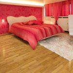 Шикарный паркетный пол для спальни