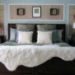 Шкуры животных как текстиль с спальне