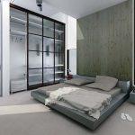 Серый цвет для современного дизайна спальни