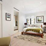 Скандинавский стиль делает спальню более просторной