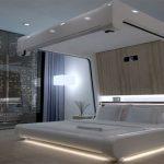 Современная музыкальная система для спальни