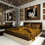 Современные и красивые аксессуары для обустройства спальни