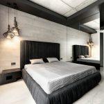 Современный хай-тек для спальни