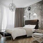 Создаем дизайна спальни в серых тонах