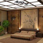 Создаем спальню в восточном японском стиле