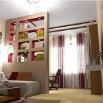 Создаем зонирование спальни правильно