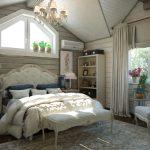 Создание спальни в стиле кантри