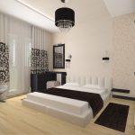 Спальни в стиле модерн отличаются изысканностью