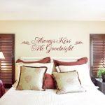 Спальня с оригинальными аксессуарами