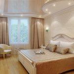 Спальня в квартире, созданная в стиле ампир