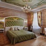 Спальня в простом стиле кантри