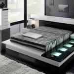 Спальня в стиле высоких технологий хай-тек