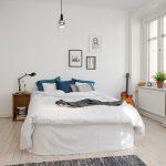 Спальня, выполненная в скандинавском стиле