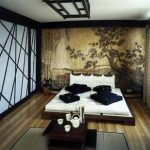 Спальня японского стиля