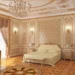 Стиль интерьера барокко в спальне