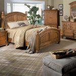 Стиль кантри делает спальню более уютной