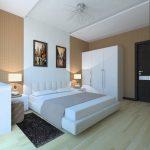 Стиль модерн для функциональности спальни