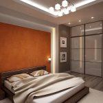 Стилевое направления интерьера хай-тек в спальне