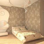 Цвет интерьера спальни и его выбора