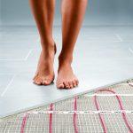 Технология электрического теплого пола в спальне
