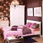 Теплый пол под плиткой в небольшой спальне