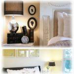 Традиционное оформления спальни с красивыми аксессуарами