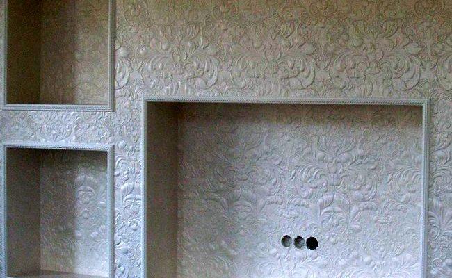 Удобный гипсокартонный короб под телевизор
