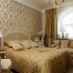 Утонченный стиль амипр для обустройства спальни