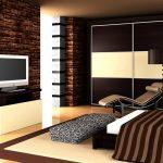 Влияние коричневого цвета на человека в спальне