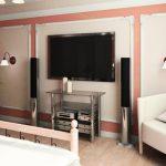 Выбор места для установки телевизора в спальне