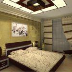 Японский стиль спальни