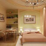 Зонированная спальня по правилам