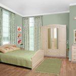 линолеум с рисунком для спальни
