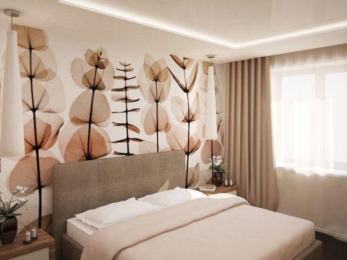 Спальня 9 кв.м дизайн