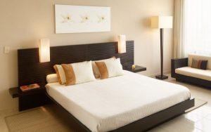 функциональная кровать для небольшой спальни