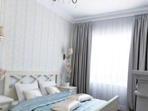 подбор текстиля для небольшой спальни