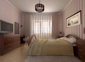 современный ремонт в спальне