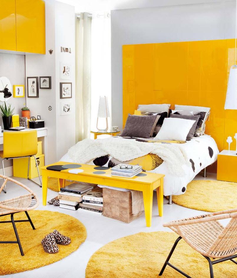 только комната в желтом стиле картинки