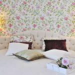 Рекомендации по подбору обоев в стиле прованс для спальни, фото