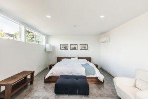 Спальня с наливными полами