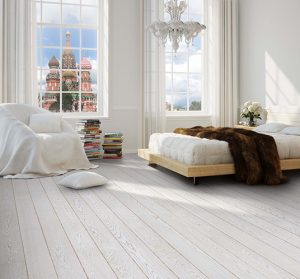 Деревянные доски окрашенные в белый цвет
