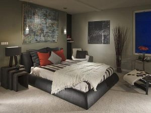 Интерьер спальни 10 кв м