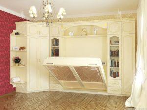 Встроенная мебель в спальне