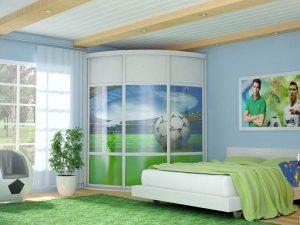 Модель шкафа для подрастковой спальни