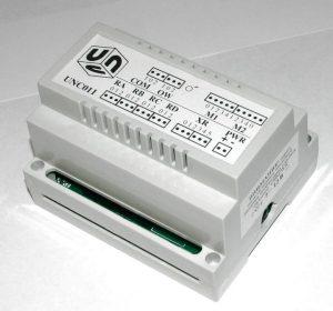 Блок для управления освещением пультом