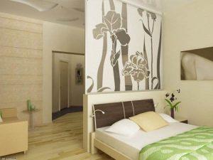 Декоративные перегородки для обустройства спальни