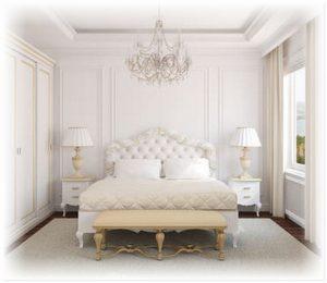 Делаем спальню уютной с помощью аксессуаров