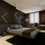 Коричневая спальня и ее особенности