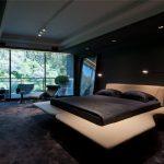 Оригинальные идеи чёрных спален